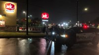 Man arrested in stolen rig while ordering Jack in the Box