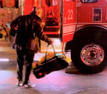 Police: Man stole from San Diego fire engine during 2-alarm blaze