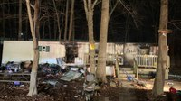 4 Md. FFs injured, 2 severely burned, after mayday call at trailer fire