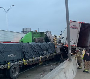 A preliminary NTSB report found that I-35W had been treated for ice 44 hours before the 133-vehicle pileup that killed 6 people. The company responsible for treating the road side the solution they used should have been effective for 72 hours.