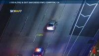 LAPD pursuit becomes 6-hour slow burn