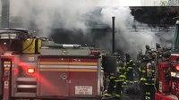 2 FDNY FFs injured in 5-alarm blaze