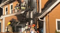 NH firefighters battle blaze at chief's home