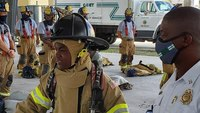Photo of the Week: Miami-Dade Fire Rescue helps teen become firefighter for a day