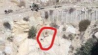Calif. tactical medics rescue man hanging head-first off cliff