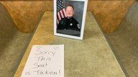 'This seat is taken': Subway restaurant makes special tribute to slain LEO