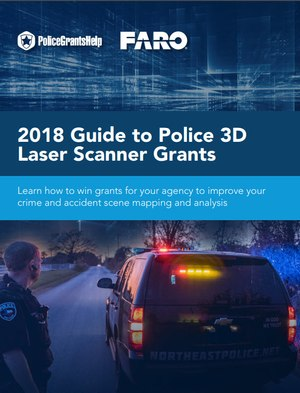 Capture accurate details of evidence with a 3D laser scanner
