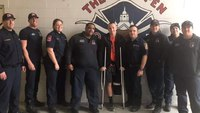 'You'll never fight fire again': A Texas amputee firefighter tells his comeback story