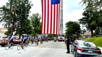 Photos, videos: LEOs participate in Police Unity Tour to honor fallen officers
