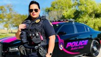 Police go pink in October for breast cancer awareness month