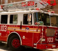 Police: Enraged driver shouts down FDNY ladder truck driver, then hits 2 firefighters