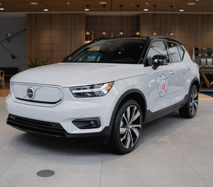 Volvo Car USA donated an electric XC40 Recharge SUV to the FDNY for training purposes