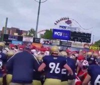 FDNY firefighters, police brawl at charity football game