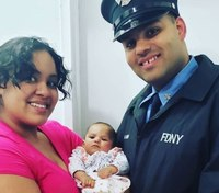 FDNY firefighter's 5-month-old daughter dies from COVID-19