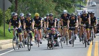 Riding to remember: Firefighters pedal 343 miles to reflect on fallen brothers