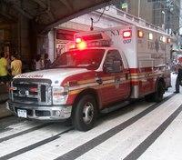 NYPD investigating BB gunshots fired at window of FDNY ambulance