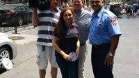 Hot car danger demo by FDNY paramedic on Fox News