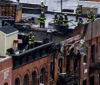 FDNY firefighter makes daring rope rescue in fatal blaze