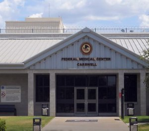 FMC Carswell inmates said the prison doesn't have enough cleaning supplies or PPE, and cells aren't immediately sanitized after someone tests positive. (Photo/BOP.gov)