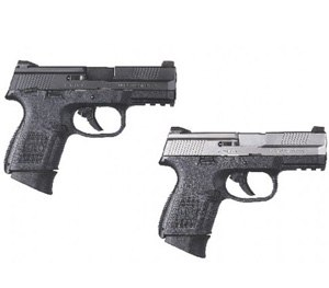 The FNS 9 (left) and FNS 40 (right). Photo Courtesy FNH USA)