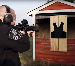 Tommy of Free Field Training has tested several vests from Safe Life Defense and has been so impressed that he wears one himself and recommends them to fellow officers. (image/Free Field Training)