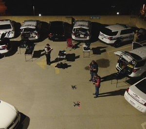 The drones helped commanders identify supply routes protesters were using to move resources and people, as well as detect movements of crowds. (Photo/FWPD)