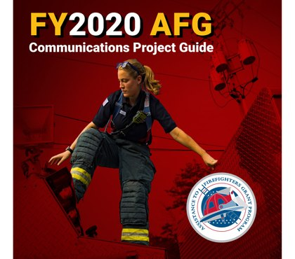 AFG 2020: Communications Project Application Guide (eBook)