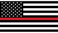 What does the thin red line flag mean?