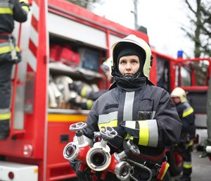 Women have been represented in the fire service for almost 200 years.