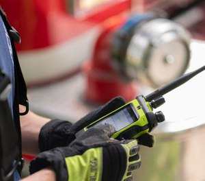 Motorola Solutions now offers its latest smart radio technology to fire departments with the APX NEXT XE P25 Smart Radio, which features a rugged touchscreen, improved audio performance, an intuitive user interface and more. (image/Motorola Solutions)