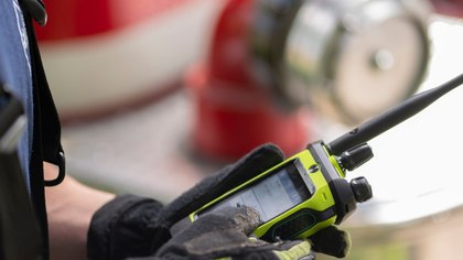 How the new fire smart radio by Motorola Solutions helps protect your focus when it matters most
