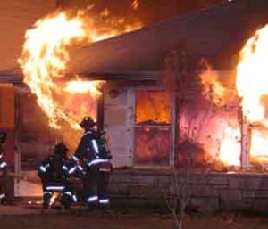 When gases rise and begin to spread, a flashover can occur
