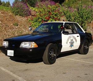 The Ford Mustang SSP was a custom car produced by Ford specifically for law enforcement. (Wikimedia Image)