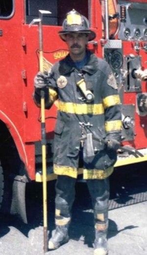 Freddie LaFemina began his fire service career in 1985.