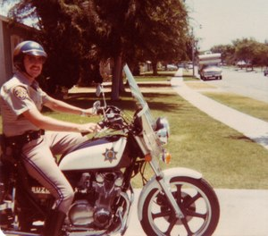My dream was fulfilled. I was a California Highway Patrol motorcop. (Photo/Gordon Graham)
