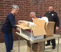 NY COs give back by delivering groceries to people in need