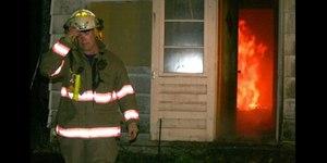 Firefighter Scott Geiselhart.
