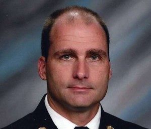 Lebanon Fire Chief Perry Gerome