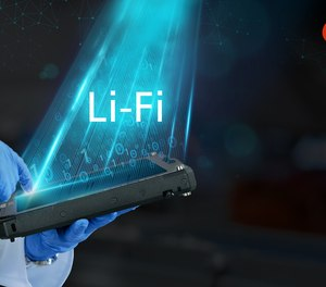 LiFi (Light Fidelity) technology uses light to transmit data rather than radio frequency.
