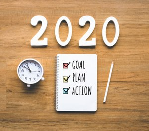 What were you thinking about as the new year was about to begin? What priorities had your department established for the new year? What goals did you set, both personally and professionally? (Photo/Getty Images)