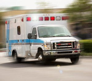 "CMS is starting to relax some of the statutory requirements and payment polices to allow EMS agencies and ambulance services to better cope with the COVID-19 public health emergency, and to focus less on ""paperwork"" and administrative burdens. (Photo/Getty Images)"