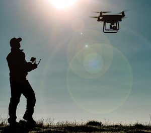 Drone video streaming provides critical situational awareness that can save lives. (image/Getty)