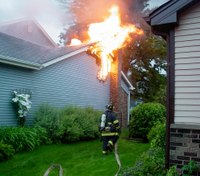 Taking the fight out of a chimney fire