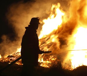 Proper water flow on the fireground has a critical impact on fire control outcomes. (image/Getty)