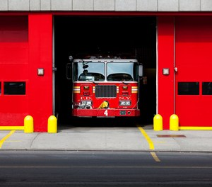 Even if the apparatus doors are up, this is their home. Ring the bell.