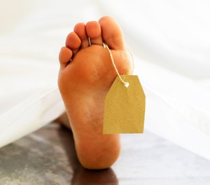 The Lazarus syndrome usually occurs within 10 minutes of CPR cessation. Therefore, many recommend monitoring a patient for 10 minutes after CPR is stopped to ensure that they are truly deceased. (Photo/Getty Images)