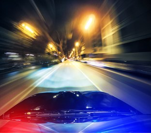 Using existing technology to safely manage cross-jurisdictional pursuits