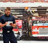 Which mobile devices are used most on the fireground and why? (infographic)