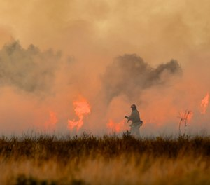 Firefighter rehab can be an even greater challenge in the wildland.