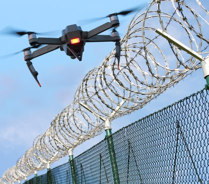 Drone bound for prison drops illicit package at school instead, Virginia cops say